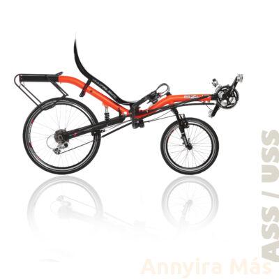 Azub Apus fekvőkerékpár Shimano Alivio felszereltséggel