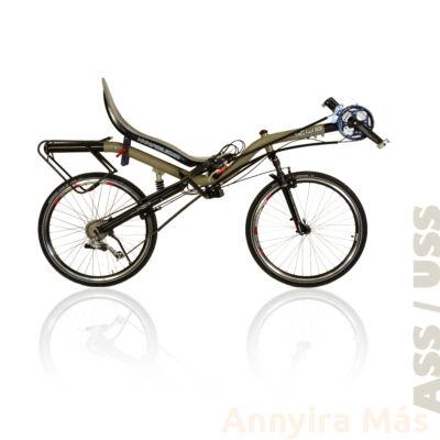 Azub Ibex fekvőkerékpár Shimano Alivio felszereltséggel