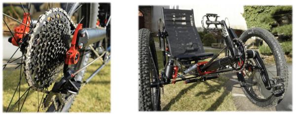 Sram Eagle 1x12 szett Azub TiFly X kerékpáron