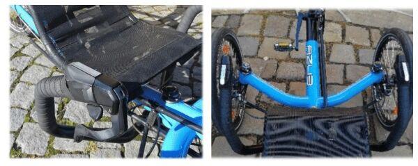 Shimano Metrea 2x11 szett egy Azub fekvőkerékpáron