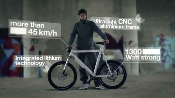 Grace One elektromos kerékpár