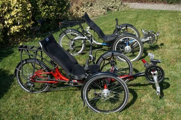 rekumbens kerékpárok