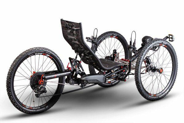 Azub TiFly X pedelec verzió Shimano 8000 motorral