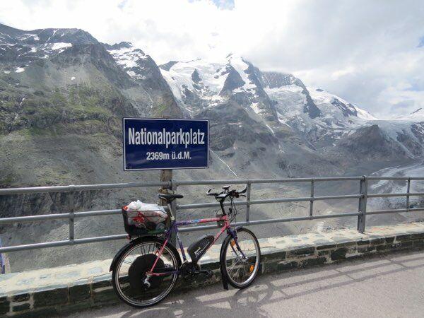 A kerékpár visszatöltésével nagyobb útvonal megtétele