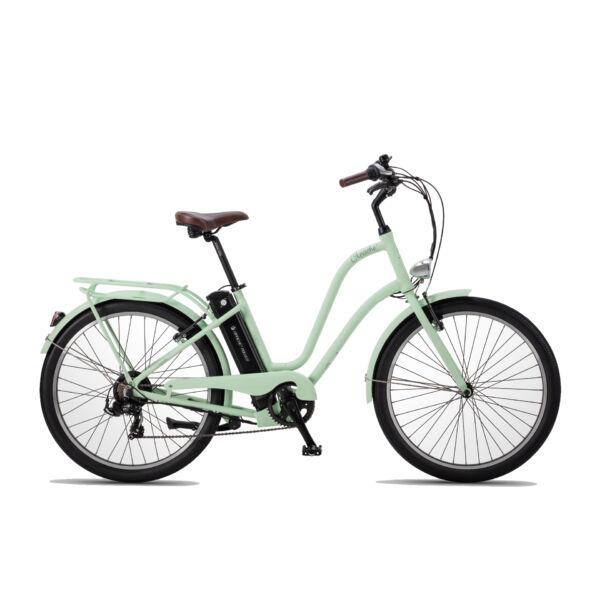 Apache Gaagii Lady elektromos kerékpár menta színben