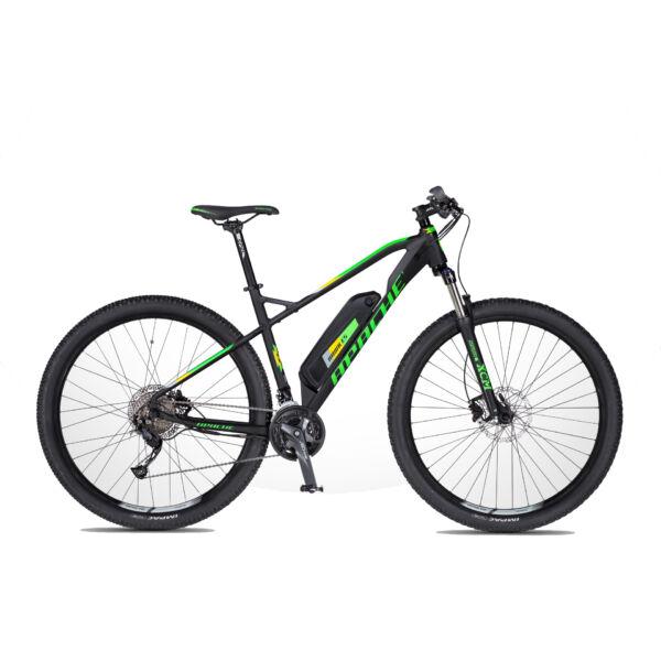Apache Hawk E5 elektromos kerékpár fekete színben