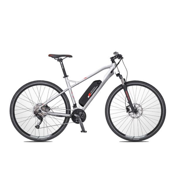 Apache Matto E5 elektromos kerékpár ezüst színben