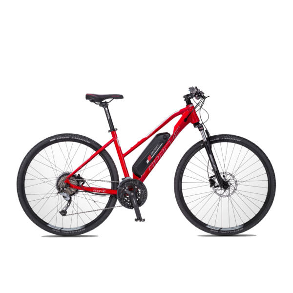 Apache Matto WMN E3 elektromos kerékpár piros színben