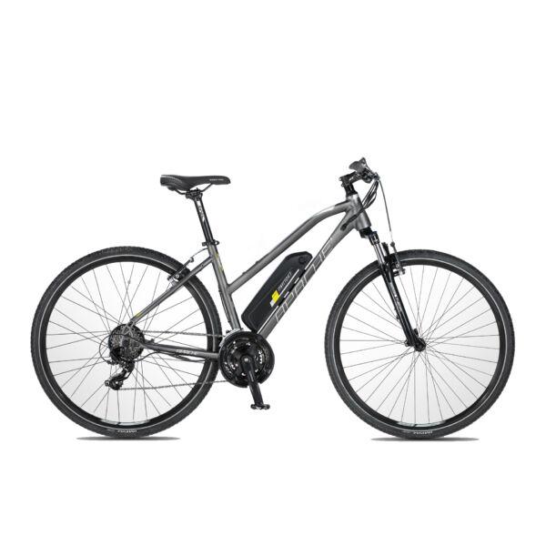 Apache Matto WMN E7 elektromos kerékpár grafit színben