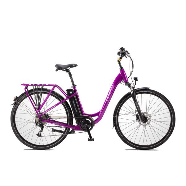 Apache Wakita Tour elektromos kerékpár metál lila színben