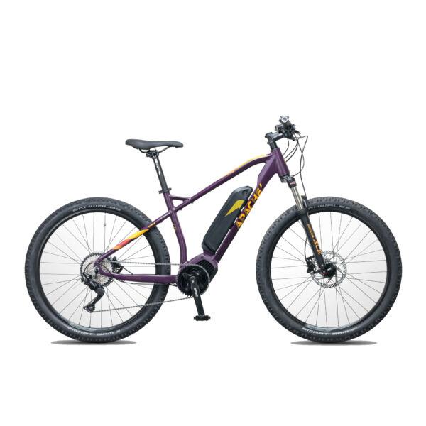 Apache Yamka Comp női elektromos kerékpár padlizsán színben