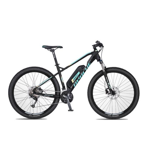 Apache Yamka E5 női elektromos kerékpár fekete színben