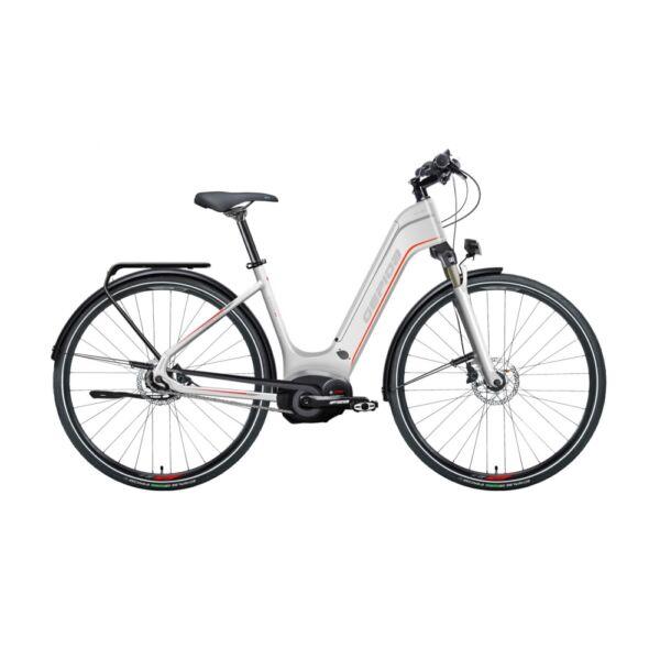 Gepida Bonum Pro Nexus 8 elektromos kerékpár fehér színben