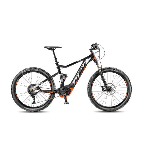 KTM Macina Lycan 274 elektromos kerékpár fekete színben