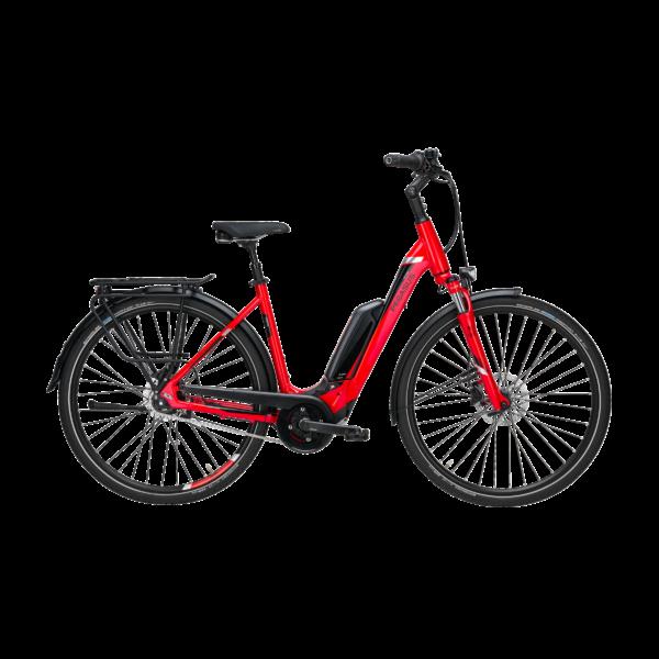 Pegasus Premio E8R Sport elektromos kerékpár piros színben