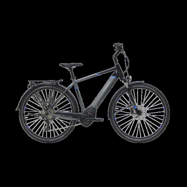 Pegasus Premio Evo 10 elektromos kerékpár szürke-fekete színben