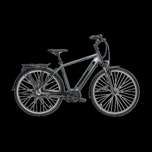 Pegasus Premio Evo Nue elektromos kerékpár szürke színben
