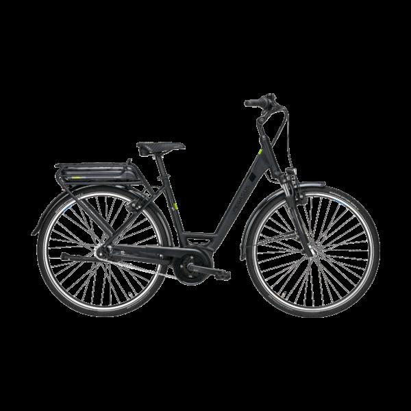 Pegasus Solero E7F elektromos kerékpár fekete színben