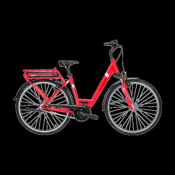 Pegasus Solero E7F Plus elektromos kerékpár piros színben