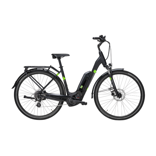Pegasus Solero E8 Sport CX elektromos kerékpár fekete színben