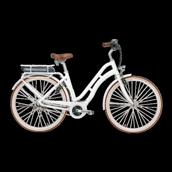 Pegasus Tourina E7F elektromos kerékpár fehér színben
