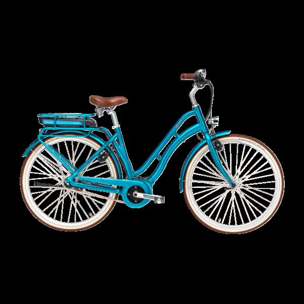 Pegasus Tourina E7F elektromos kerékpár kék színben