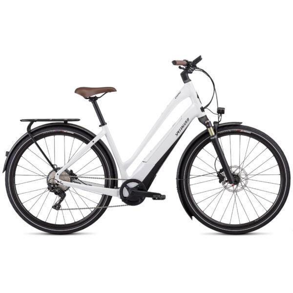 Specialized Turbo Como 5.0 elektromos kerékpár fehér színben