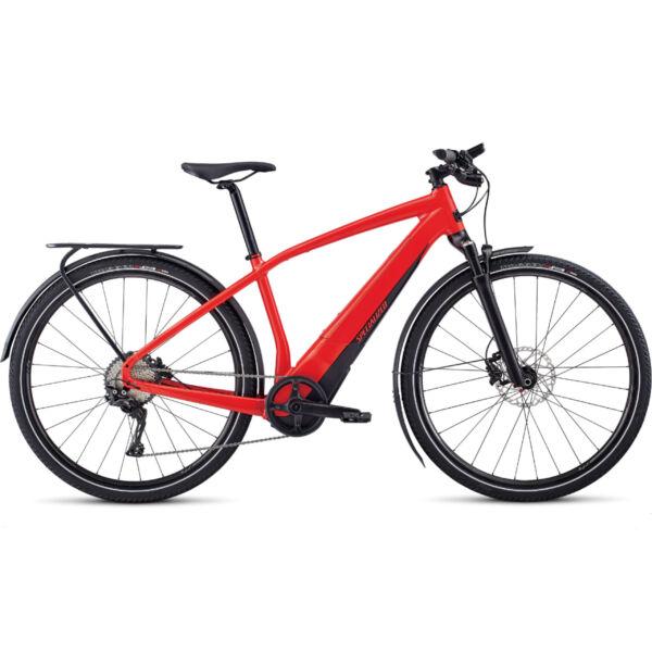 Specialized Turbo Vado 4.0 elektromos kerékpár piros színben