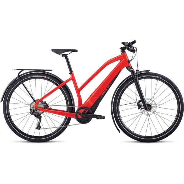 Specialized Women's Turbo Vado 4.0 elektromos kerékpár piros színben