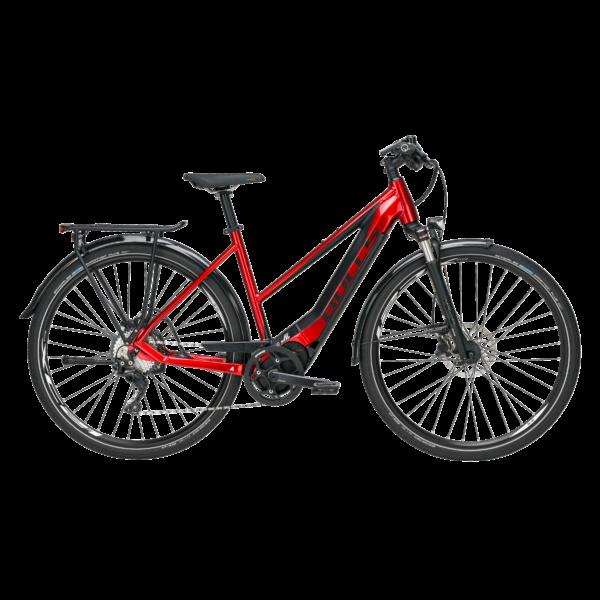 Bulls Lacuba Evo Lite 11 elektromos kerékpár meggypiros színben