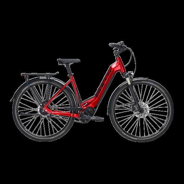 Bulls Lacuba Evo Lite 5 elektromos kerékpár meggypiros színben