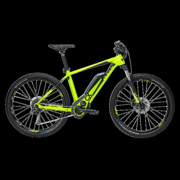 Bulls Six50 E1 CX elektromos kerékpár zöld színben