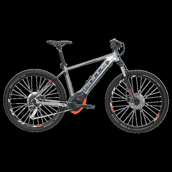 Bulls Six50 Evo 1,5 elektromos kerékpár szürke színben