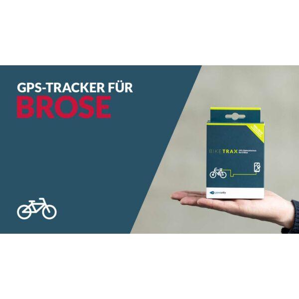 PowUnity Biketrax GPS nyomkövető Brose rendszerű elektromos kerékpárokhoz
