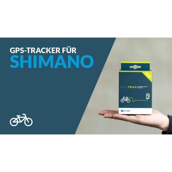 PowUnity Biketrax GPS nyomkövető Shimano Steps rendszerű elektromos kerékpárokhoz
