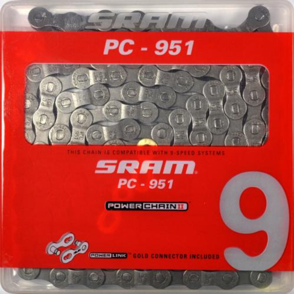 Lánc Sram PC951  9-sebességes