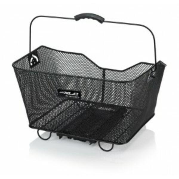 Kosár fekete hátsó Carry more rendszer