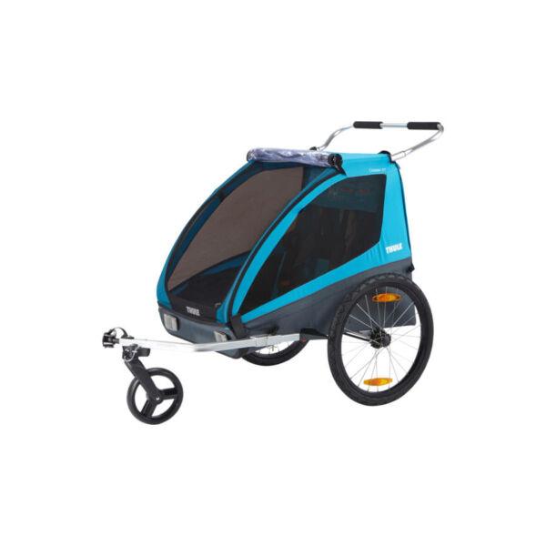 Thule Coaster XT gyerekszállító utánfutó sétáló kerékkel