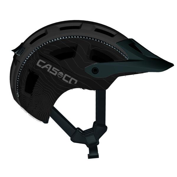 Casco MTB E Fekete