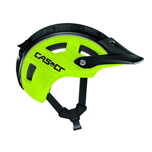 Casco MTB E Fekete/Zöld