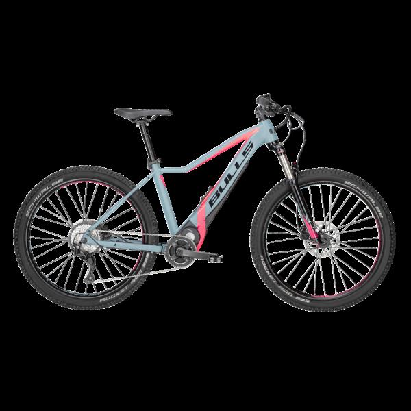 Bulls E-Stream Eva 2 27,5+ női elektromos kerékpár szürke-pink színben