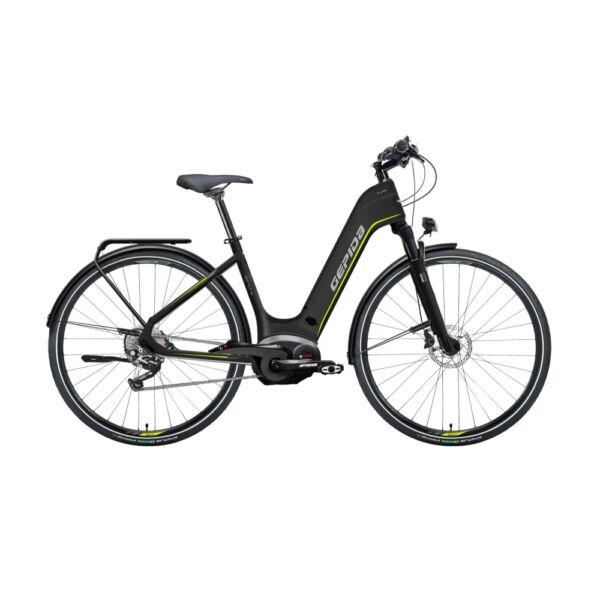 Gepida Reptila Pro Slx 10 Powertube elektromos kerékpár fekete színben