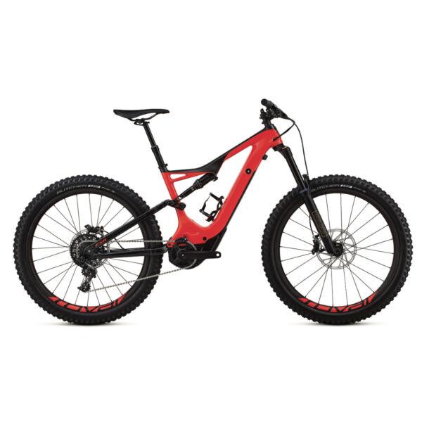 Specialized Levo FSR Expert Carbon 6Fattie elektromos kerékpár piros színben