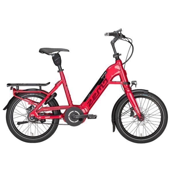 Zemo Scooter 8N elektromos kerékpár piros színben