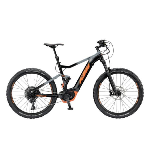 KTM Macina Lycan 274 elektromos kerékpár fekete-narancs színben