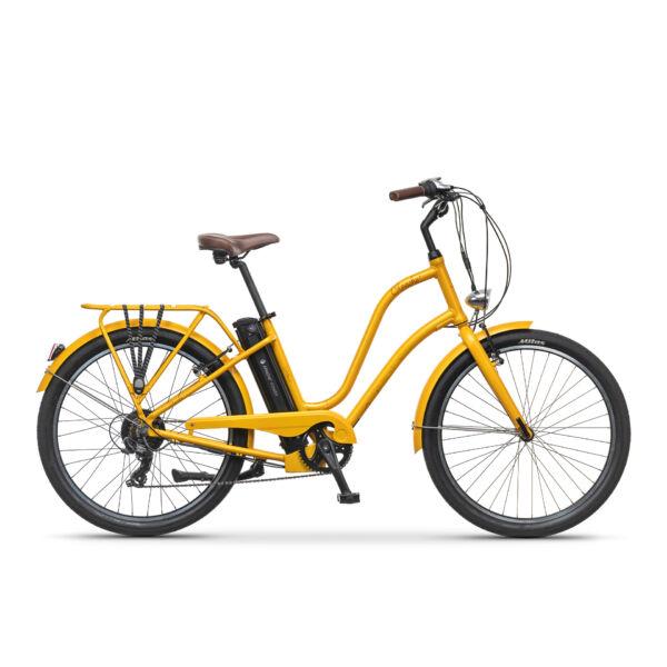 Apache Gaagii Lady elektromos kerékpár sárga színben