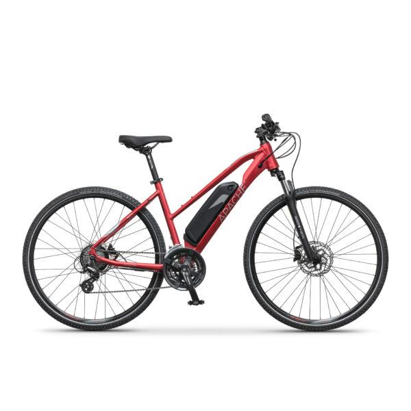 Apache Matta E6 elektromos kerékpár piros színben