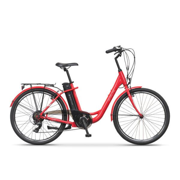 Apache Tanka elektromos kerékpár piros színű vázzal