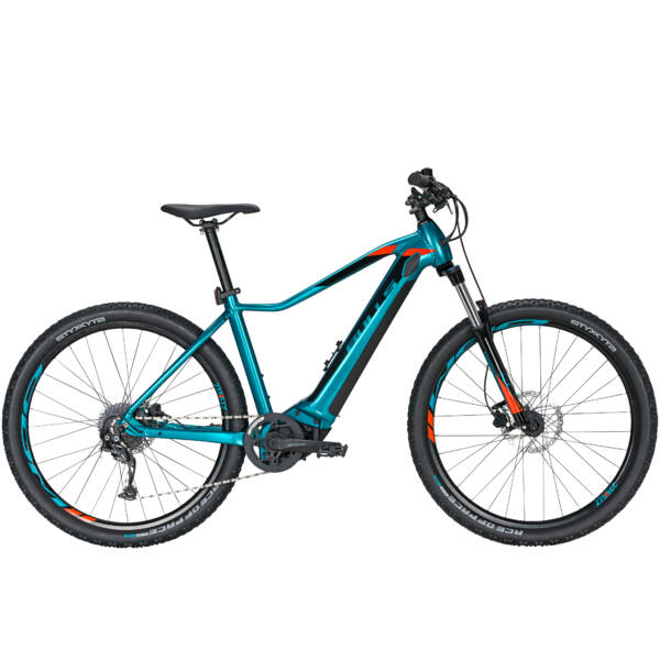 Bulls Aminga Eva 1 női elektromos kerékpár türkiz színben