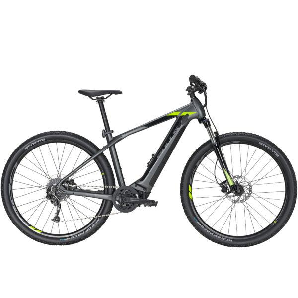 """Bulls Copperhead Evo 1 29"""" elektromos kerékpár fekete-zöld színben"""